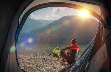 Tenting and Kayaking
