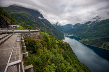 The Road to Geiranger Norway