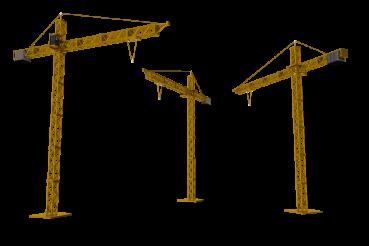 Three Cranes PNG