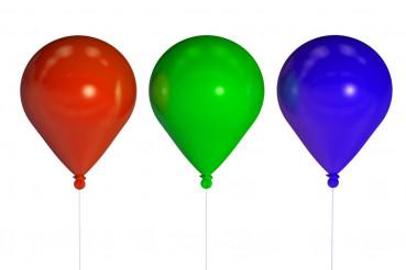 Three Party Balloons