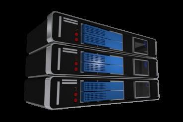 Three Server Machines PNG