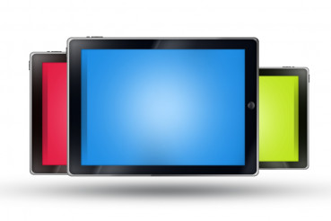 Three Tablets Isolated