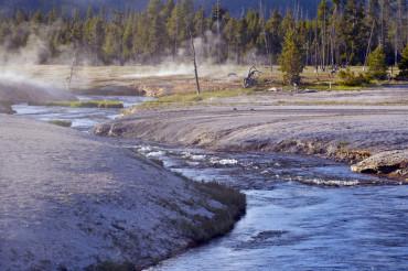 Toxic River in Yellowstone