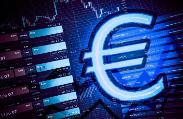 Trading Euro Currency Concept