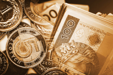 trading Polish Zloty Concept