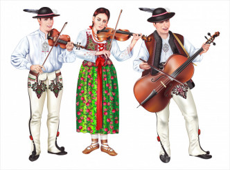 Traditional Polish Folk Band