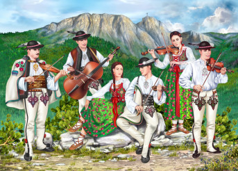 Traditional Zakopane Band
