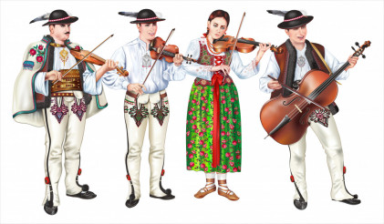 Traditional Zakopane Folk Band