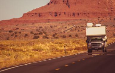 Truck Camper Arizona Trip