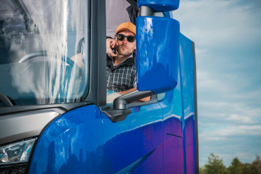 Truck Driver Phone Call