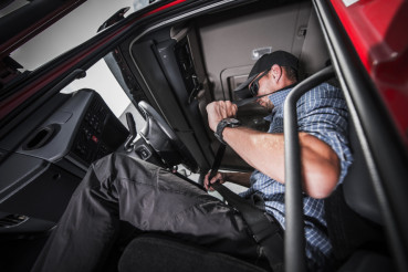 Truck Driving Seat Belt