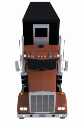 Truck with Trailer PNG