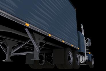 Trucking Concept Illustration