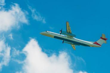 Turboprop Jet Airplane