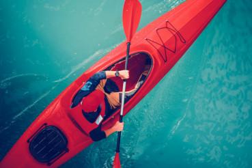 Turquoise Lake Kayak Tour