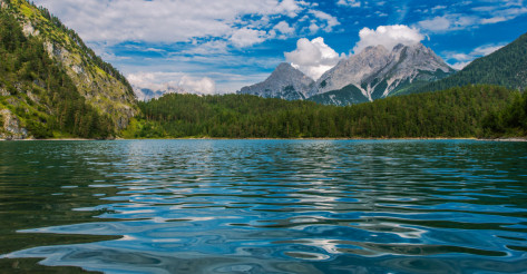Tyrol Austria Blindsee Lake