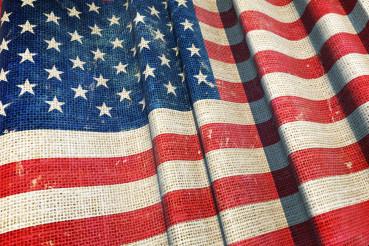United States Canvas Flag