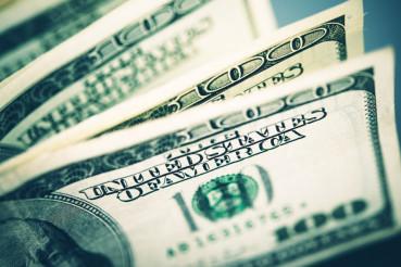 United States Dollars Concept