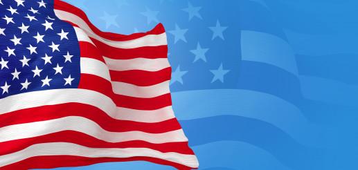 United States of America Flag Banner