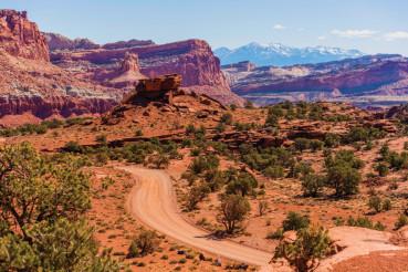 Utah Gravel Country Road