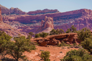 Utah Rock Formation Scenery