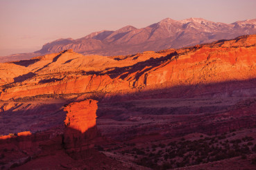 Utah Sunset Scenery