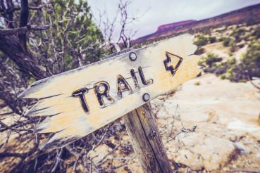 Utah Trail Sign