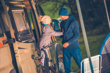 Vacation Camper Van Travel
