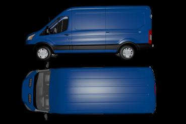 Van Side and Top View