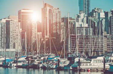 Vancouver Cityscape Marina