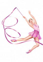 Vector Rhythmic Gymnastics