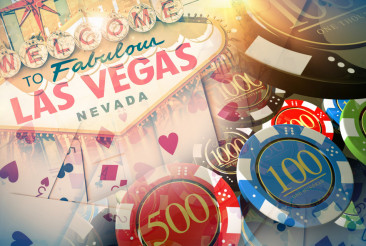 Vegas Casino Games Concept
