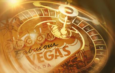 Vegas Roulette Spin Concept