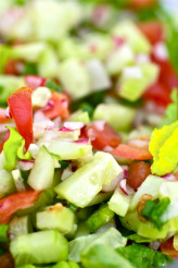 Vegetable Diet Salad