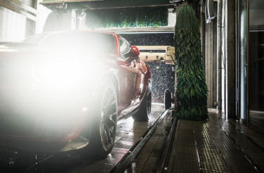 Vehicle Cleaning in Car Wash