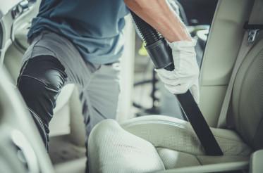Vehicle Interior Vacuuming