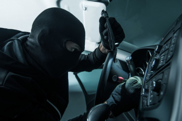 Vehicle Thief Concept Photo