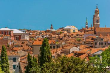 Venetian Cityscape Architecture