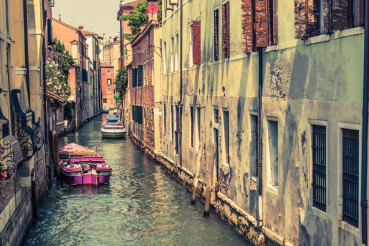 Venice Canal Architecture