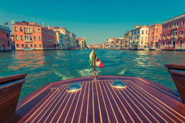 Venice Italy Water Taxi
