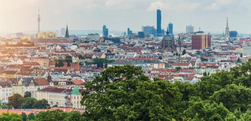 Vienna Cityscape Panorama