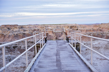 View Point in the Badlands