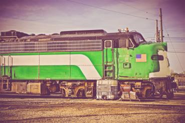 Vintage American Locomotive