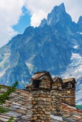 Vintage Italian Alp Architecture