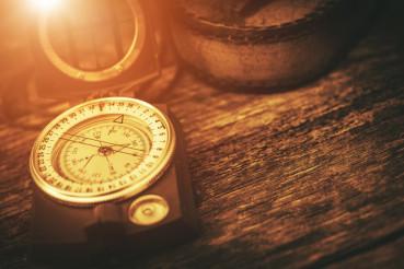 Vintage Journey Compass Concept