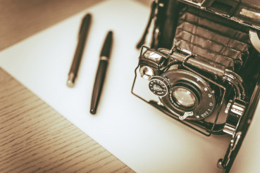 Vintage Photography Concept