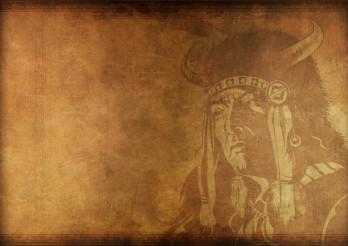 Vintage Shaman Background