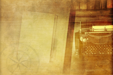 Vintage Writer Background