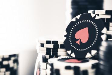 Assortment Of Casino Poker Tokens.