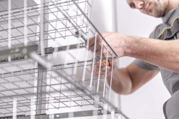 Wardrobe Baskets Installation